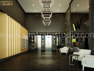 Yantram Architectural Design Studio Corporation Pisos Bambú Negro