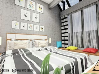 DESAIN INTERIOR KAMAR Daniya Architect Kamar Tidur Minimalis
