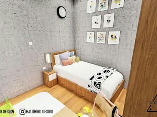 DESAIN INTERIOR KAMAR Daniya Architect Kamar tidur kecil