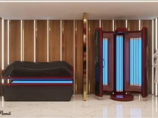 Camila Pimenta | Arquitetura + Interiores Clinics Wood Beige