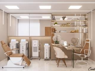 Camila Pimenta | Arquitetura + Interiores Clinics Wood White