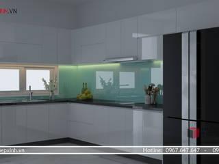 CÔNG TY TNHH TRANG TRÍ NỘI THẤT NHẤT HUY KitchenCabinets & shelves MDF White