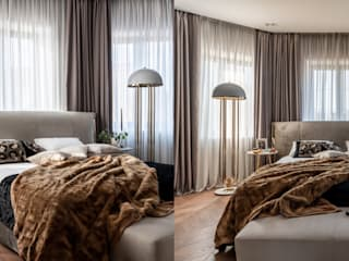 Residential Project With DelightFULL´s Lamps In Moscow DelightFULL Modern style bedroom