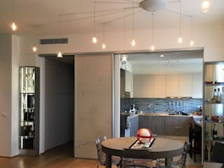 Arch+ Studio Salas de estar ecléticas