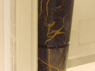 Elementi per Villa privata a Londra Arte 2000 BagnoDecorazioni Marmo Nero
