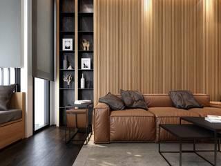 ramรับออกแบบตกแต่งภายใน Paisajismo de interiores Aglomerado Acabado en madera