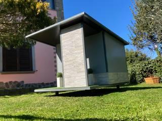 Pet House Design® Taman zen Kayu Grey