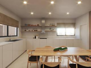 Êxodo Construções e Engenharia Cocinas de estilo moderno
