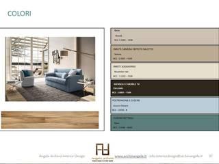 Angela Archinà Progettazione & Interior Design Salones de estilo minimalista