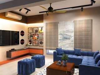 Design 8 现代客厅設計點子、靈感 & 圖片