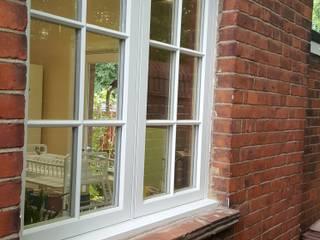 casement window Repair A Sash Ltd Wooden windows Engineered Wood White