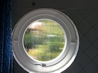 Bulls eye window Repair A Sash Ltd Wooden windows Engineered Wood White