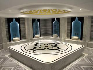 Efesus Stone 現代浴室設計點子、靈感&圖片