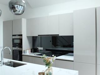 Greenford Kitchen Project Cattleya Kitchens Dapur Modern