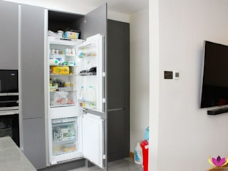 Perivale Kitchen Project Cattleya Kitchens Dapur Minimalis