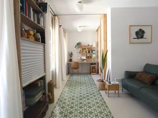 Vivienda en Donostia - San Sebastián Bitarte arquitectura & interiorismo Estudios y despachos de estilo moderno Cerámico Multicolor
