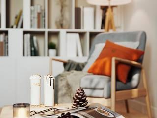 Вира-АртСтрой Salas de estilo minimalista