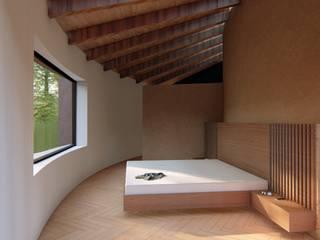 CONCEPTUAL ESTUDIO + ARQUITECTURA SAS Rustikale Schlafzimmer