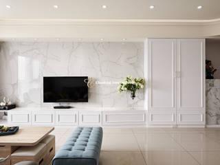 藕荷美邸 趙玲室內設計 客廳