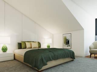 Suite Architecture TOTE SER Minimalist bedroom