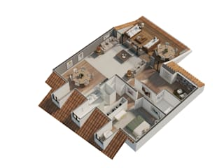 Humanized Floor Plans Architecture TOTE SER