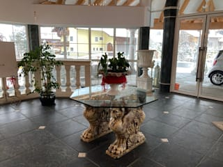 Hall d'albergo - Lermoos Arte 2000 Pavimento Marmo Verde