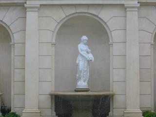 Fontane per Villa Privata - California Arte 2000 Giardino anteriore Marmo Bianco