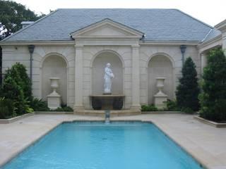 Fontane per Villa Privata - California Arte 2000 Villa Marmo Bianco