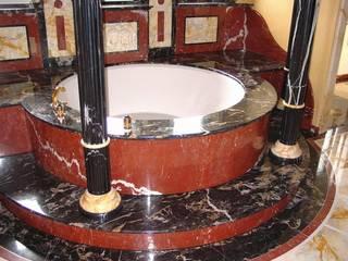 Villa Privata in Germania Arte 2000 Bagno in stile classico Marmo Nero