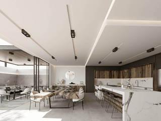 Rebora Arquitectos Modern kitchen Marble White