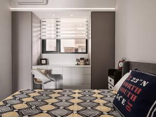 線代序曲 趙玲室內設計 臥室