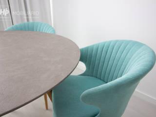 H&P Mobiliário e Decoração Dining roomChairs & benches Textile Blue