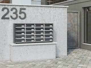 Silmec - MailBoxes and more... Rumah Modern
