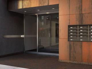 Silmec - MailBoxes and more... Koridor & Tangga Modern Aluminium/Seng