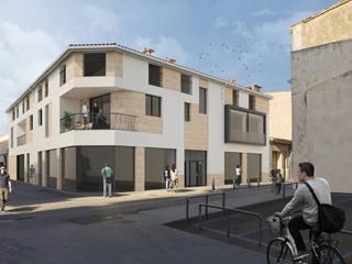 "Edificio "" Sa Fàbrica"" CM ARQUITECTURA Casas multifamiliares"