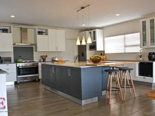 Ergo Designer Kitchens & Cabinetry 廚房 MDF Grey