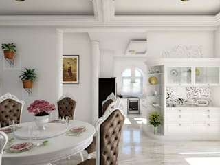 Monnaie Interiors Pvt Ltd ห้องทานข้าวของประดับและอุปกรณ์จิปาถะ ไม้ Wood effect