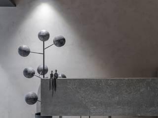 DESIGNER'S CIRCLE Koridor & Tangga Modern Marmer Grey