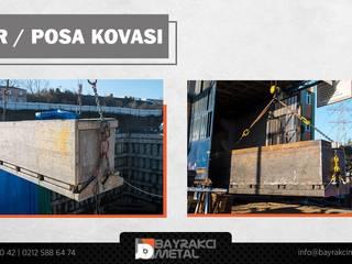 Bayrakcı Metal İnşaat Rumah keluarga besar Besi/Baja Grey