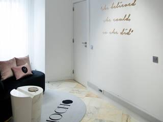 ByOriginal Minimalist corridor, hallway & stairs