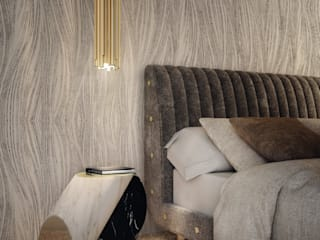 Top five bedrooms with Delightfull lamps DelightFULL Habitaciones modernas