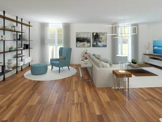 Ginkgo Design Studio Living room Wood White
