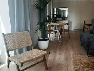 Reforma vivienda LC en Burgos Cimbra47 Salones de estilo ecléctico
