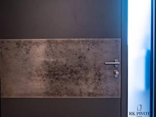 RK Exclusive Doors Puertas modernas Aluminio/Cinc Ámbar/Dorado