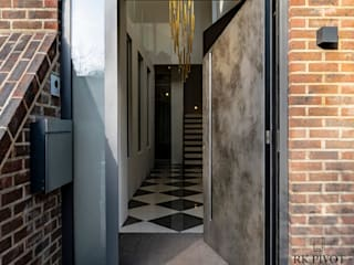 RK Exclusive Doors Puertas de entrada Aluminio/Cinc Ámbar/Dorado