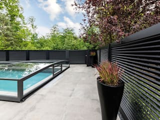 Nordzaun JardínMuros y vallas Aluminio/Cinc Negro
