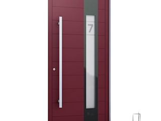 RK Exclusive Doors Front doors Aluminium/Zinc Red