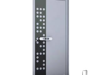 RK Exclusive Doors Puertas de entrada Aluminio/Cinc Metálico/Plateado