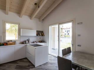 Villetta Romagna Biocasanatura - case in legno Cucina moderna