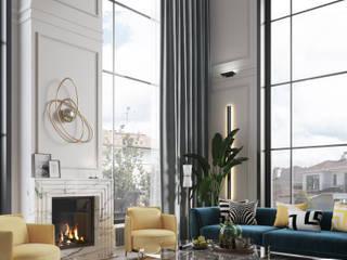 Rubleva Design Livings de estilo clásico